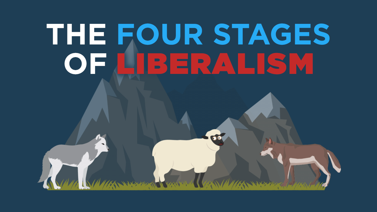 "My New Video On ""The Four Stages of Liberalism"""