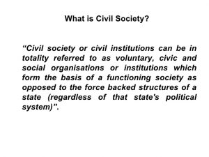 Civil Society Is Not A Contract: A Reply to Hobbes and Locke